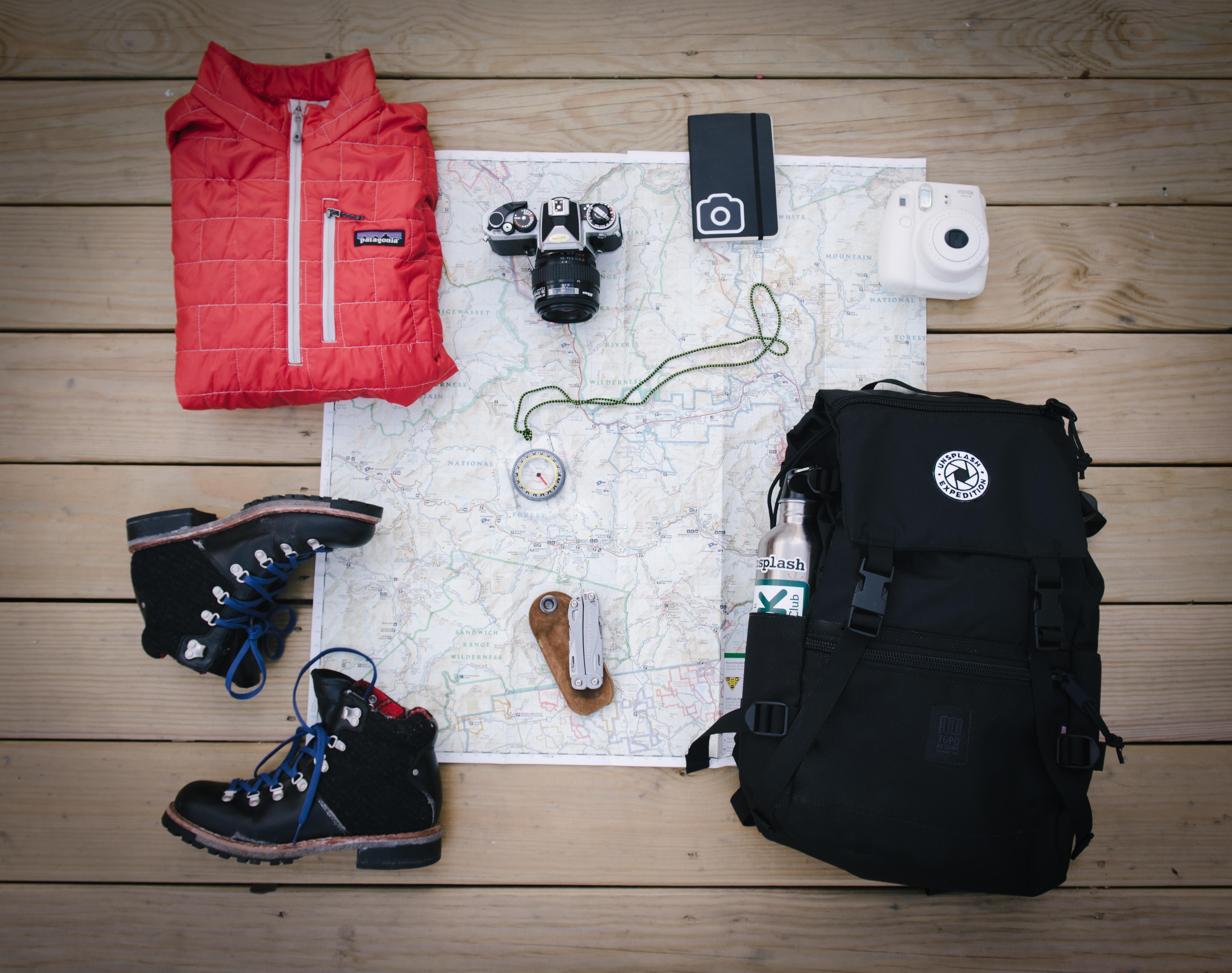 trekking packing list things
