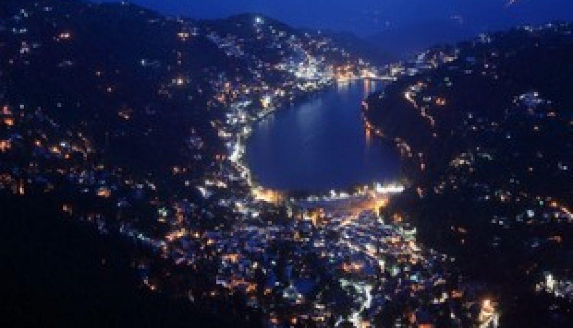 Naina-Peak-Nainital-view-of-nainital-at-night