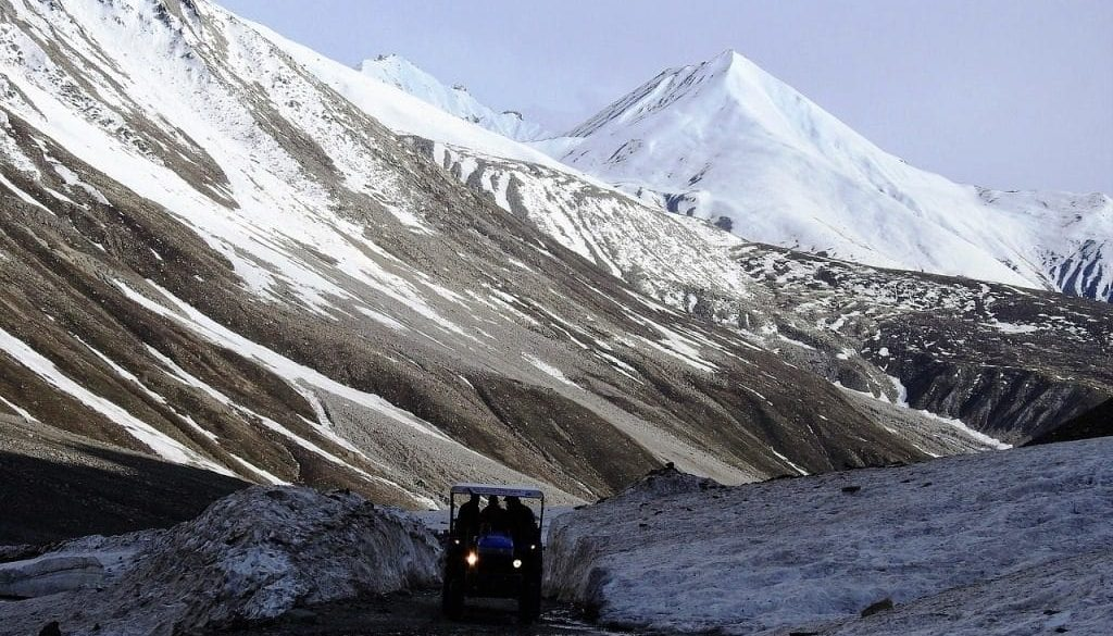 Spiti valley base camp