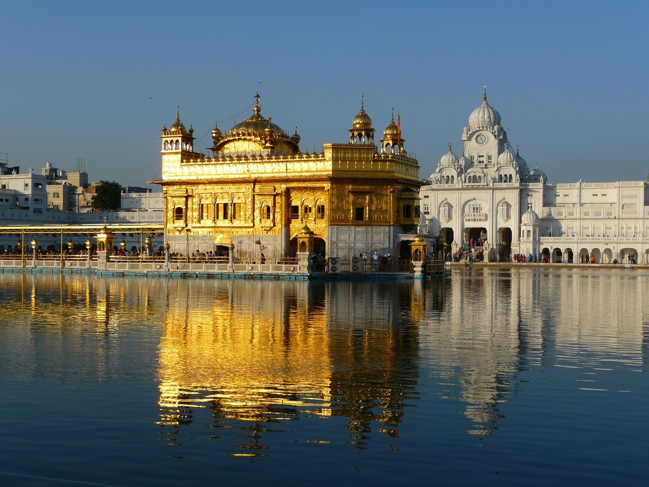 Gurudwara Harmandir Sahib - The Golden Temple, Amritsar, India